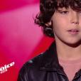 """Ali - """"The Voice Kids 2019"""", le 6 septembre 2019 sur TF1."""