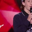 """Esteban - """"The Voice Kids 2019"""", le 6 septembre 2019 sur TF1."""