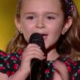 """Maëline - """"The Voice Kids 2019"""", le 6 septembre 2019 sur TF1."""