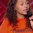 """Océane - """"The Voice Kids 2019"""", le 6 septembre 2019 sur TF1."""