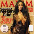 "Megan Fox... juste magnifique en couverture de ""Maxim"" !"