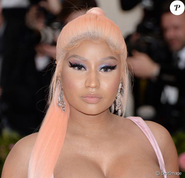 """Nicki Minaj - Arrivées des people à la 71ème édition du MET Gala (Met Ball, Costume Institute Benefit) sur le thème """"Camp: Notes on Fashion"""" au Metropolitan Museum of Art à New York, le 6 mai 2019 The 2019"""