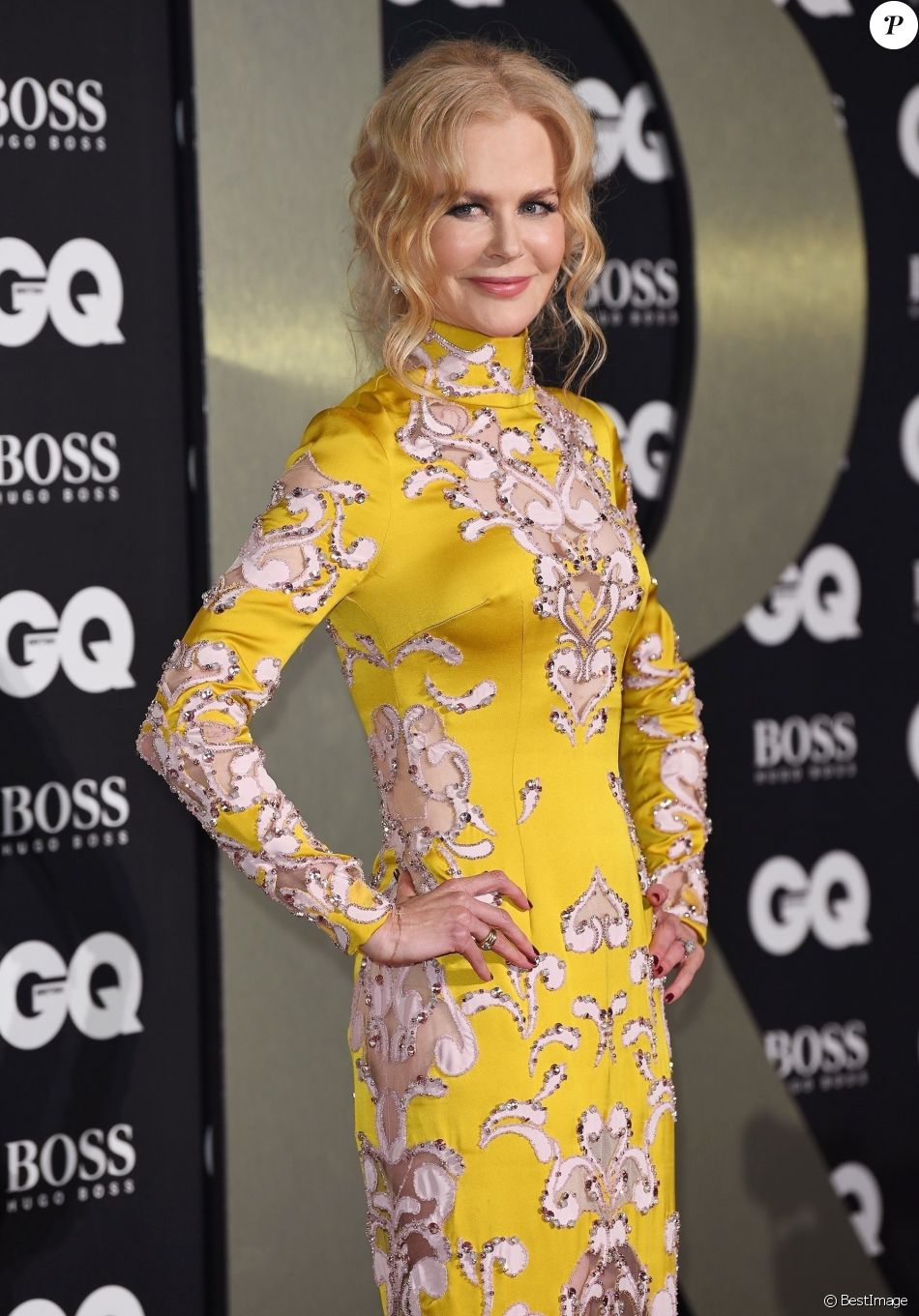 "Nicole Kidman - Photocall de la soirée ""GQ Men of the Year"" Awards à Londres le 3 septembre 2019."