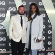 "Kim Jones, Naomi Campbell - Photocall de la soirée ""GQ Men of the Year"" Awards à Londres le 3 septembre 2019."