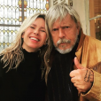 Romane Serda et Renaud réunis sur une photo publiée sur Instagram le 14 février 2018