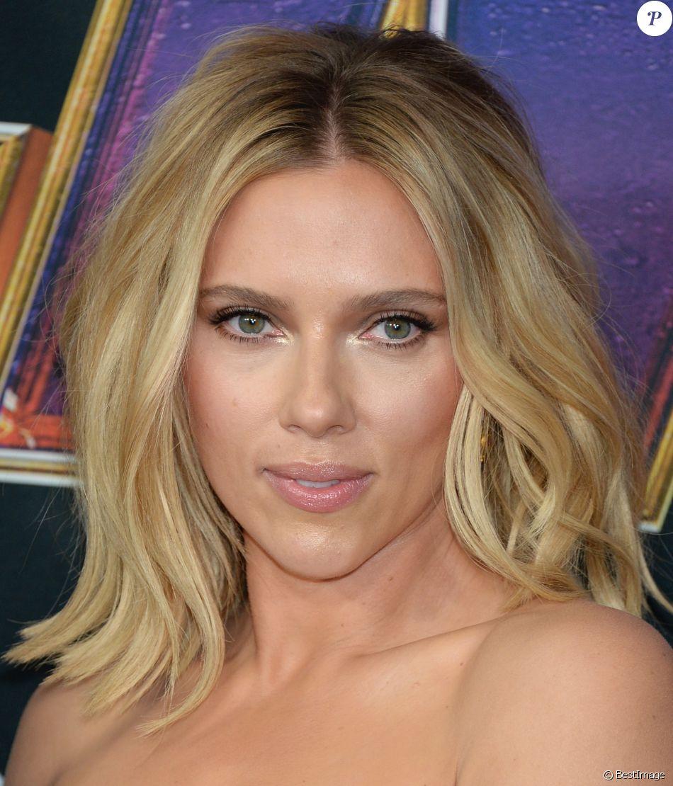 """Scarlett Johansson - Avant-première du film """"Avengers : Endgame"""" à Los Angeles, le 22 avril 2019."""