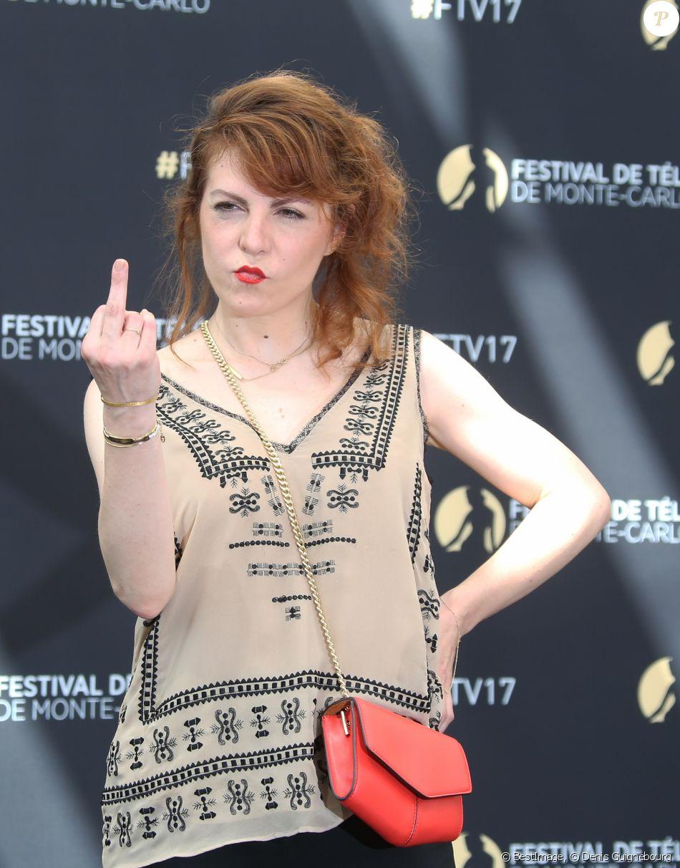Anne-Elisabeth Blateau - 57ème Festival de télévision de Monte-Carlo, le 17 juin 2017. © Denis Guignebourg/Bestimage
