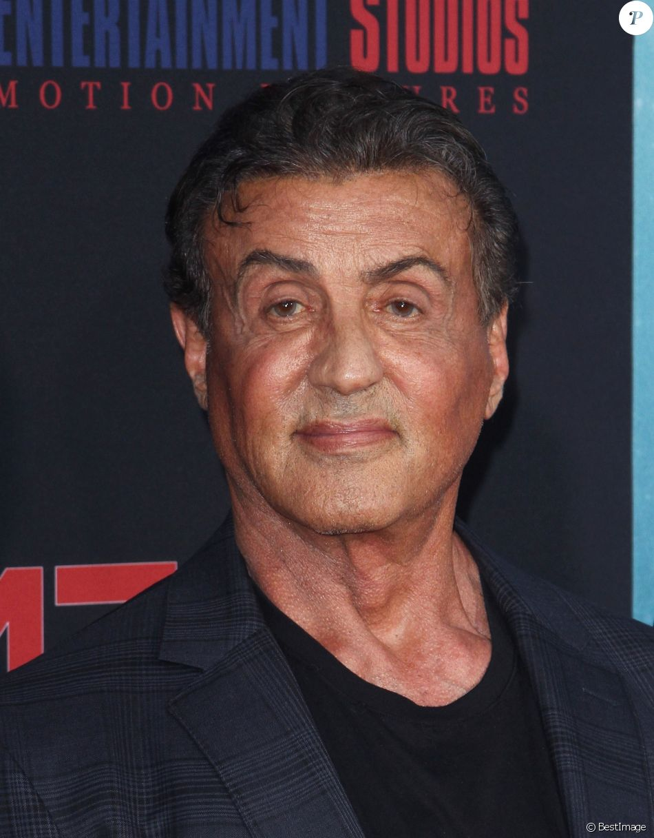 "Sylvester Stallone - Avant-première du film ""47 Meters Down: Uncaged"" au Regency Village Theater à Westwood, Los Angeles, le 13 août 2019."