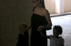 Angelina Jolie : la magnifique actrice s'offre une pause dansante avec Shiloh et Zahara ! Regardez !