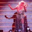 Christina Aguilera en concert à Moscou le 23 juillet 2019.