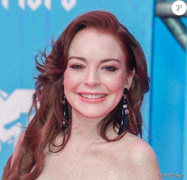 Lindsay Lohan à la soirée MTV Europe Music Awards à Bilbao en Espagne, le 4 novembre 2018.
