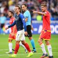 Antoine Griezmann lors du match de football France- Andorre (3-0) pour les qualifications de l'Euro 2020 au Stade de France à Saint-Denis le 10 septembre 2019. © Philippe Lecoeur/Panoramic/Bestimage