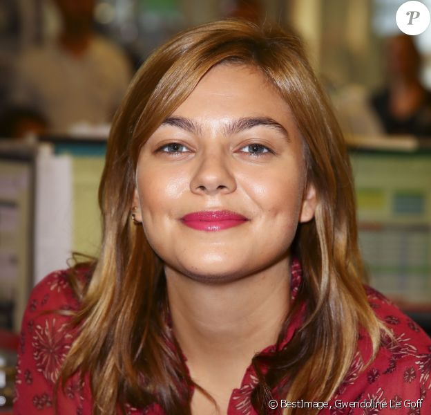 Louane Emera à l'opération Charity Day chez Aurel BCG partners à Paris le 11 septembre 2019. © Gwendoline Le Goff / Panoramic / Bestimage