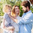 Whitney Port, Tim Rosenman et leur fils Sonny. Juin 2019.