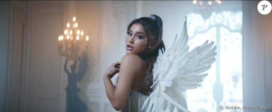 """Ariana Grande dans le clip de """"Don't Call Me Angel"""", bande originale du film Charlie's Angels, le 13 septembre 2019."""