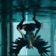 """Miley Cyrus dans le clip de """"Don't Call Me Angel"""", bande originale du film Charlie's Angels, le 13 septembre 2019."""
