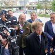 Maître Éric Dupond-Moretti, Isabelle Balkany, Patrick Balkany, Pierre-Olivier Sur - Arrivées des époux Balkany au tribunal de Paris pour entendre la sentence concernant leur procès pour fraude fiscale le 13 septembre 2019.
