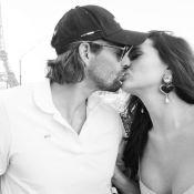 Camille Lacourt : Doux baiser avec sa belle compagne Alice