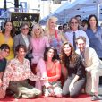 "Kathryn Hahn, Amy Landecker, Jill Soloway, Judith Light, Gaby Hoffman, Trace Lysette et Jay Duplas - Judith Light inaugure son étoile sur le ""Walk of Fame"" de Los Angeles, le 12 septembre 2019."