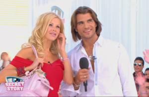 Secret Story 3 : Angie et Romain auraient-ils cédé à la tentation cette nuit ? Regardez !