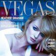 """Heather Graham, magnifique en couverture du magazine """"Vegas"""" !"""