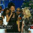 Judith Hill chante  Heal The World  au Staples Center. Le 07/07/09
