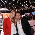 Exclusif - Frédéric Diefenthal et sa compagne - Soirée Renault à l'occasion de l'ouverture de la 120ème édition du Mondial de l'Automobile 2018 au Paris Expo Porte de Versailles à Paris le 2 octobre 2018. © Rachid Bellak/Bestimage