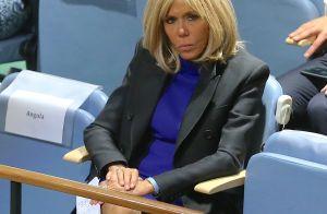 Brigitte Macron en soutien : spectatrice attentive d'Emmanuel à l'ONU