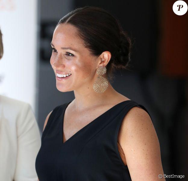 Meghan Markle, duchesse de Sussex, participe à un événement organisé à Woodstock Exchange, pour les femmes fondatrices/entrepreneurs sociaux, à Cape Town, Afrique du Sud. Le 25 septembre 2019