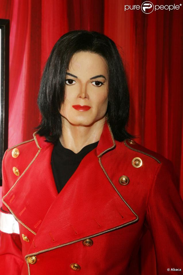 La poupée de cire de Michael Jackson version Musée Grévin