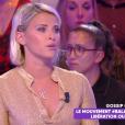 """Kelly Vedovelli raconte dans """"Touche pas à mon poste"""" avoir été victime de harcèlement, le 25 septembre 2019, sur C8"""