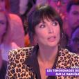 """Géraldine Maillet dans """"Touche pas à mon poste"""", le 25 septembre 2019, sur C8"""