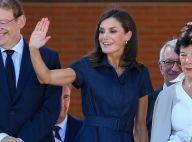 Letizia d'Espagne ressort sa robe en jean pour une visite scolaire à Elche