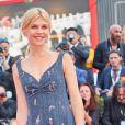 Clémence Poésy - Arrivées à la cérémonie d'ouverture du 75ème festival du film de Venise, la Mostra le 29 août 2018.