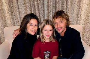 Eva Longoria : Au naturel, elle pose complice avec Harper Beckham