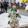 """Lachlan Watson - Arrivées au défilé de mode PAP printemps-été 2020 """"Miu Miu à Paris. Le 1er octobre 2019 © Veeren Ramsamy-Christophe Clovis / Bestimage"""
