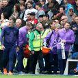 Hugo Lloris s'est blessé lors du match Brighton-Tottenham le 5 octobre 2019.