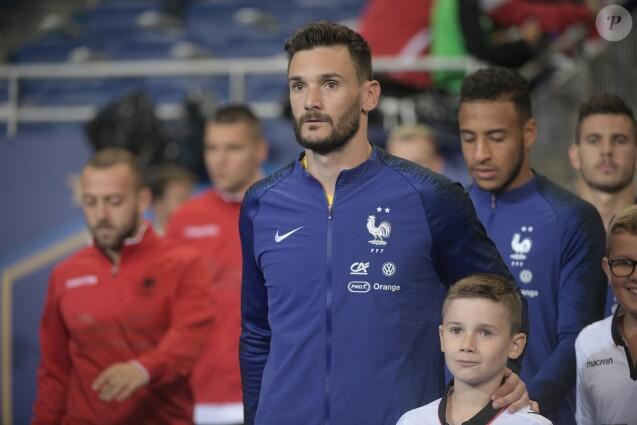 Hugo Lloris - Match de qualification entre la France et l'Albanie (4-1) au Stade de France à Saint-Denis le 7 septembre 2019. © Giancarlo Gorassini/Bestimage