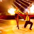 """Moundir et Katrina Patchett sur un paso doble lors du troisième prime de """"Danse avec les stars 2019"""", diffusé le 5 octobre, sur TF1"""