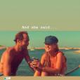 James Middleton et sa fiancée Alizér Thévenet sur Instagram, le 6 octobre 2019.