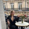 Lottie Moss à Paris. Septembre 2019.