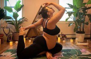 Ashley Graham enceinte : Entièrement nue, elle est