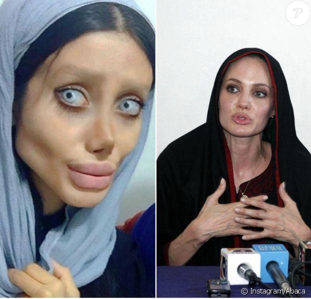 Sahar Tabar est prête à tout pour ressembler à son idole, Angelina Jolie.