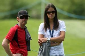 La belle Ana Ivanovic a encouragé son champion de chéri... mais en vain !