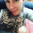 Agathe Lecaron et ses fils, Instagram, mai 2018.