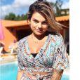 """Fanny Rodrigues de """"Secret Story 10"""" radieuse et sublime en robe sur Instagram, le 1er août 2019"""