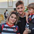 """Fanny Rodrigues de """"Secret Story 10"""", Joao et son fils Diego, sur Instagram, le 31 août 2019"""