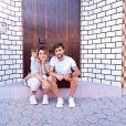 """Fanny Rodrigues de """"Secret Story 10"""" et son petit ami Joao, sur Instagram, le  25 août 2019"""
