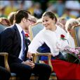 Victoria de Suède fête ses 32 ans. Pour la première fois, son compagnon Daniel Westling est avec elle pour les célébrations officielles !