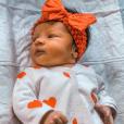 Le visage de la petite Ruby enfin dévoilé, sur Instagram le 13 octobre 2019.